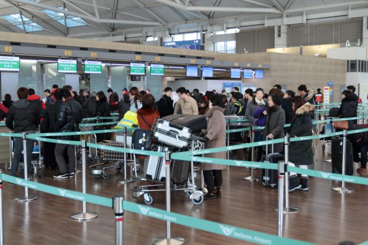 인천공항 셀프 체크인 (21)