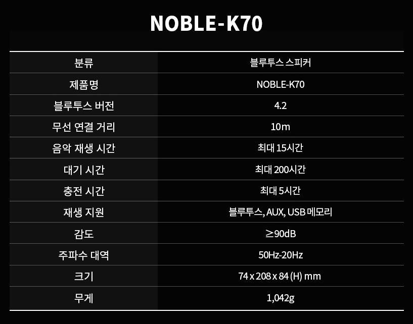 노블 K70 (20)