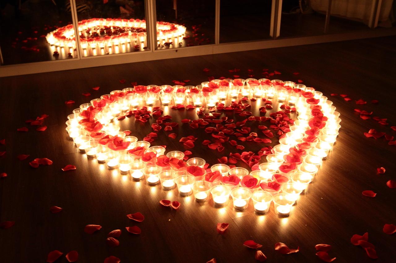 결혼기념일 촛불이벤트 (18)