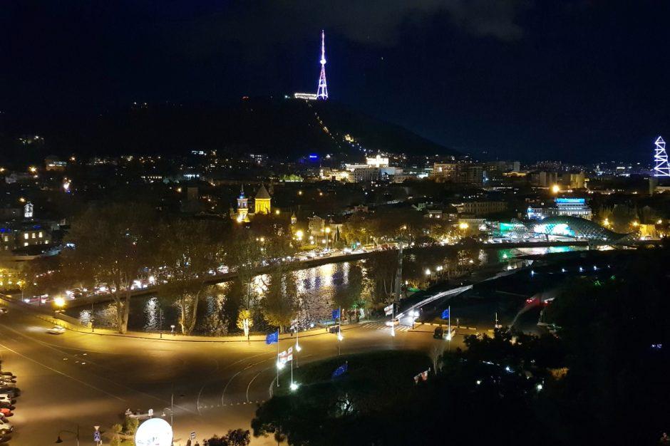 조지아여행 트빌리시 야경