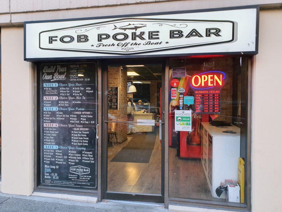 시애틀 맛집 FOB Poke Bar (1)