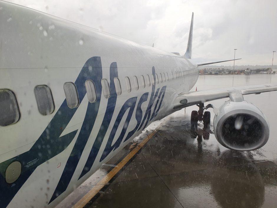 알라스카 에어라인 비행기